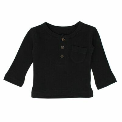 Thermal Long Sleeve Kids Black