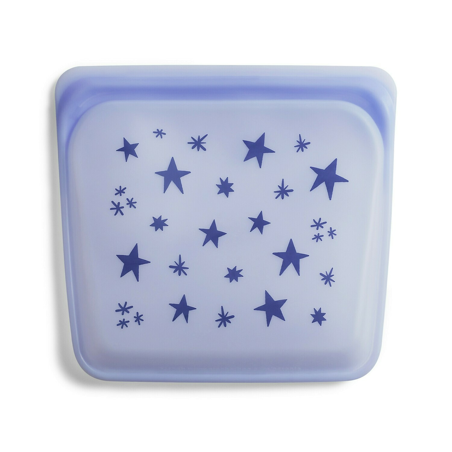 Silicone Sandwich Bag Amethyst Star
