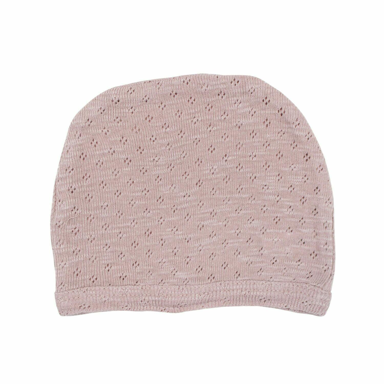 Pointelle Hat Thistle