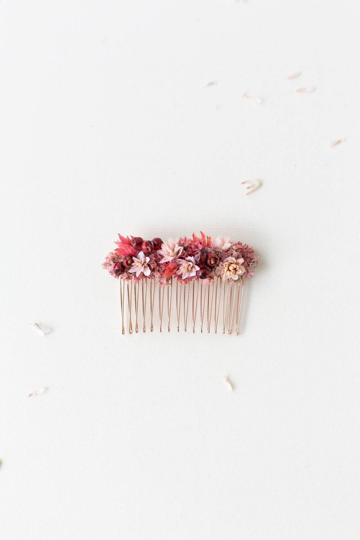 Trockenblumen Haarkamm Borkum bei Classy Flowers kaufen   Shop   Classy Flowers