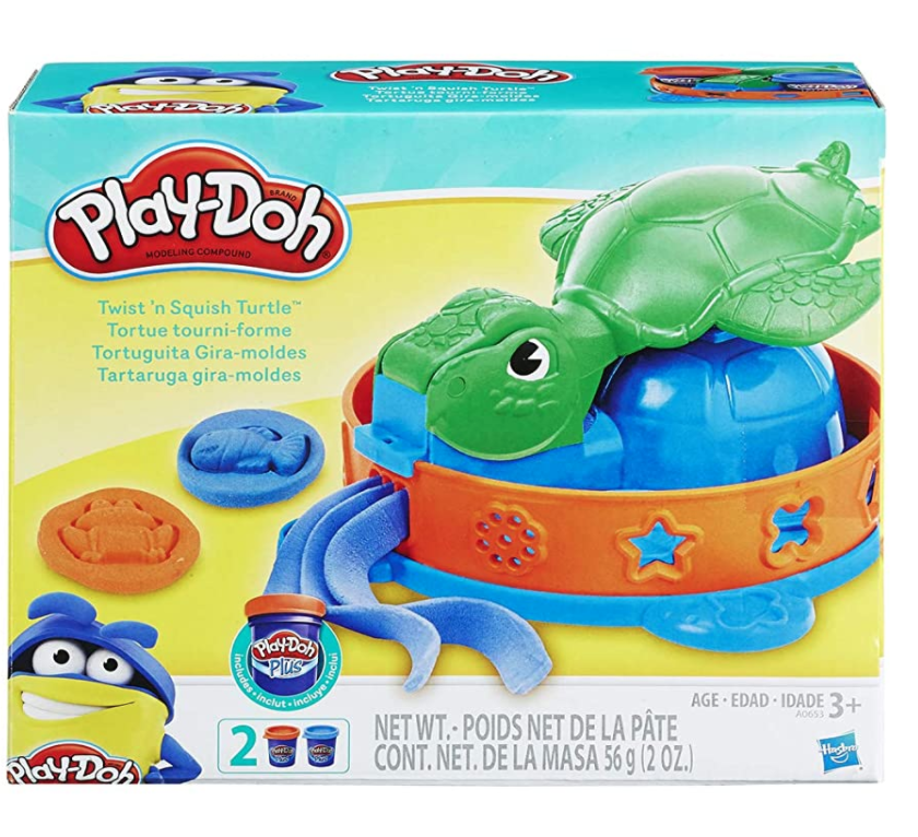 Play Doh Twist 'n squish turtle