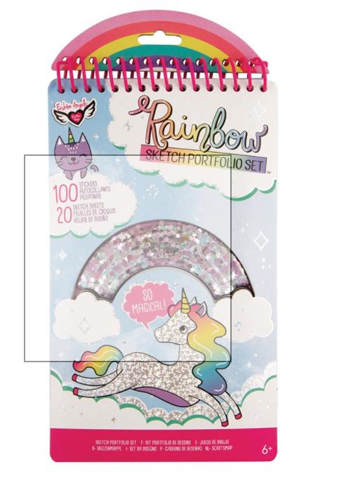 Rainbow shaker compact portfolio