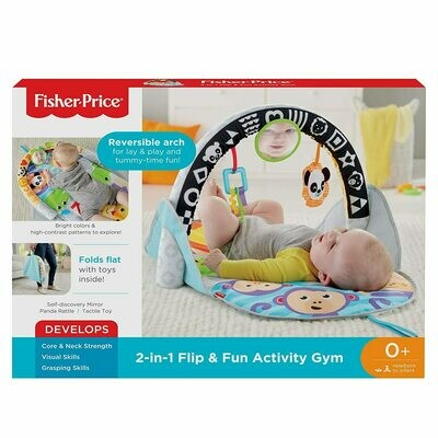 2-in-1 Flip & Fun Activity Gym