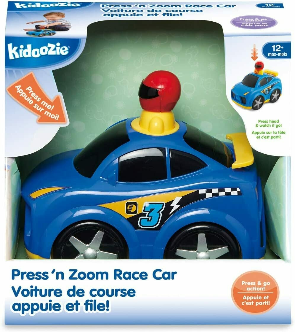 press 'n zoom race car