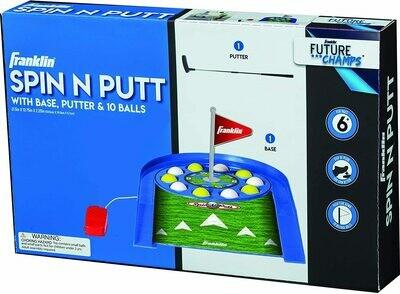 Kids Indoor Spin N Putt Golf Set