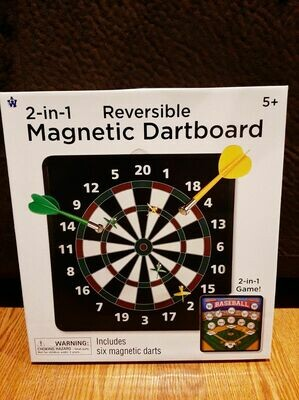 Magnetic Dartboard (reversible)