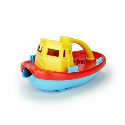 Tugboat (green toys)