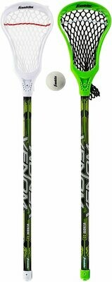 youth lacrosse stick and ball set