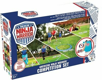America Ninja Warrior Competition Set