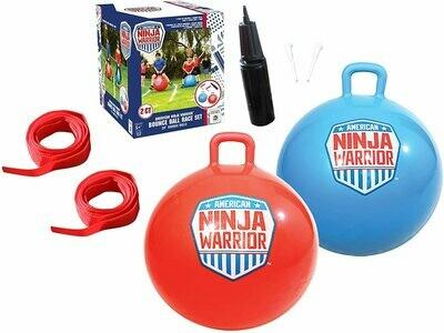 America Ninja Warrior Bounce Ball Race Set