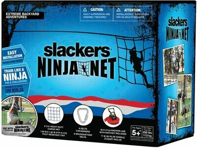 Slackers Ninja Net (red)