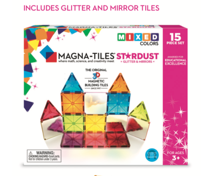 Magna-tiles Stardust 15 piece