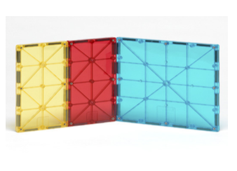 Magna-tiles rectangles expansion set