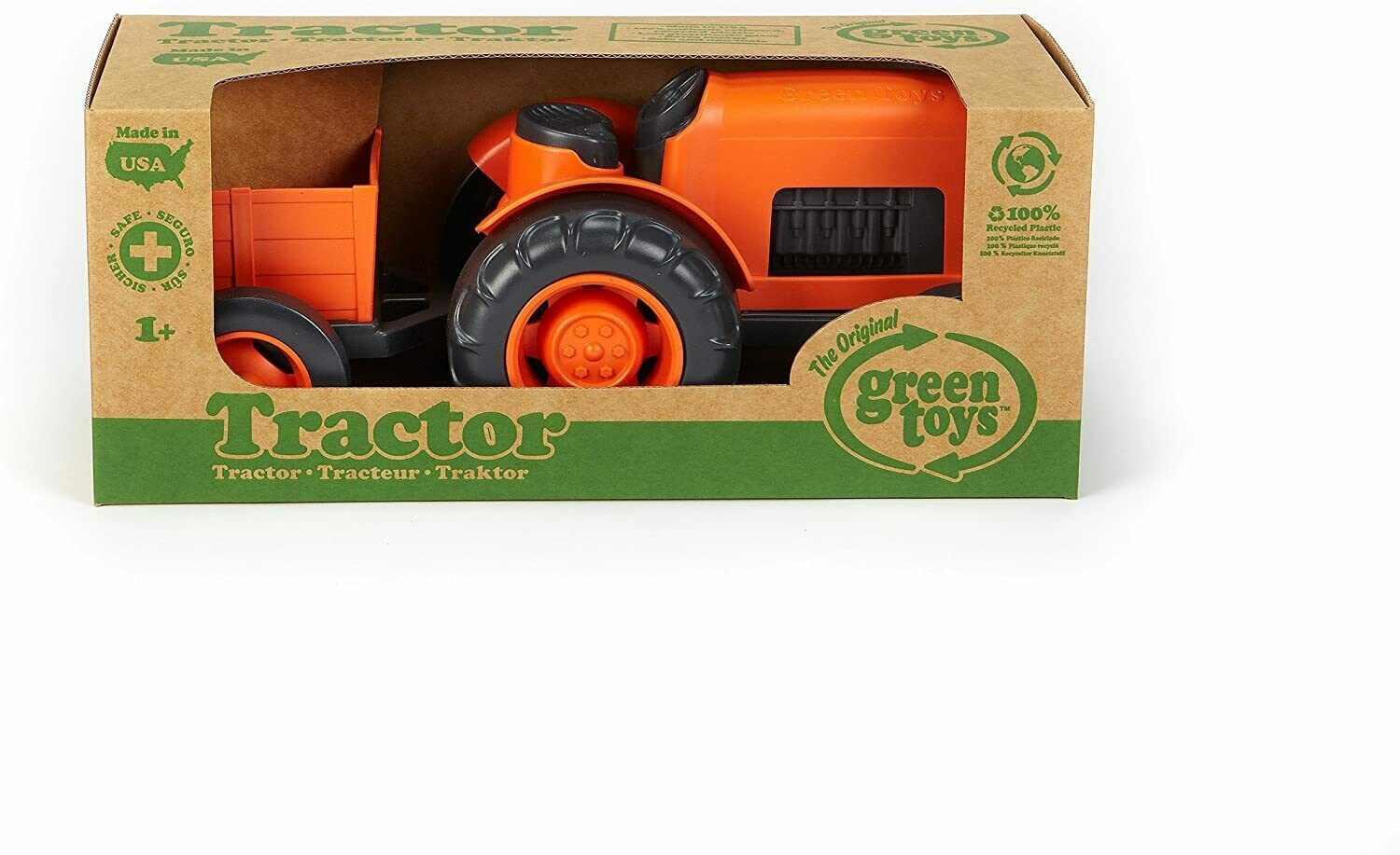 Tractor (Green toys)