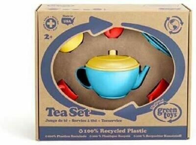Tea Set (green toys)