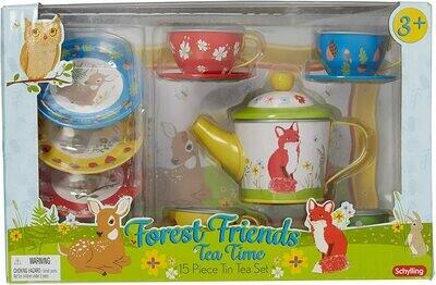 Forest Friends Tea Set