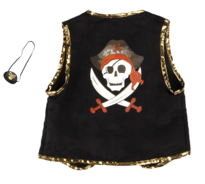 Pirate Vest and Eye Patch