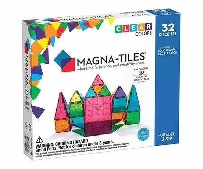 Magna-tiles Clear Colors 32 piece