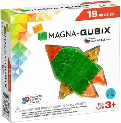Magna-Qubix 19 piece
