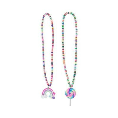 Lollipop/Rainbow necklace