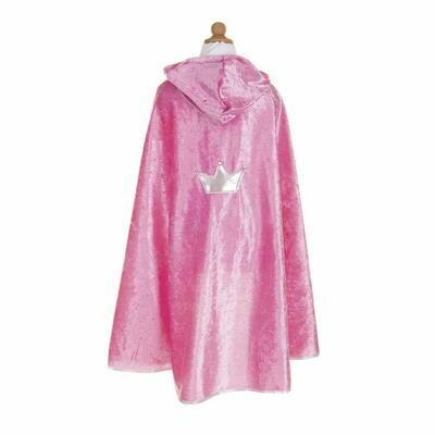Princess Cape dark pink size 5/6