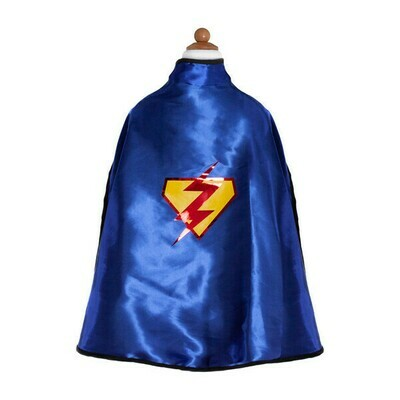 Reversible Adventure Cape and Mask (Size 5-6)
