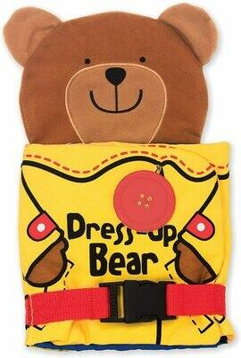 Dress Up Bear Soft Activity Book