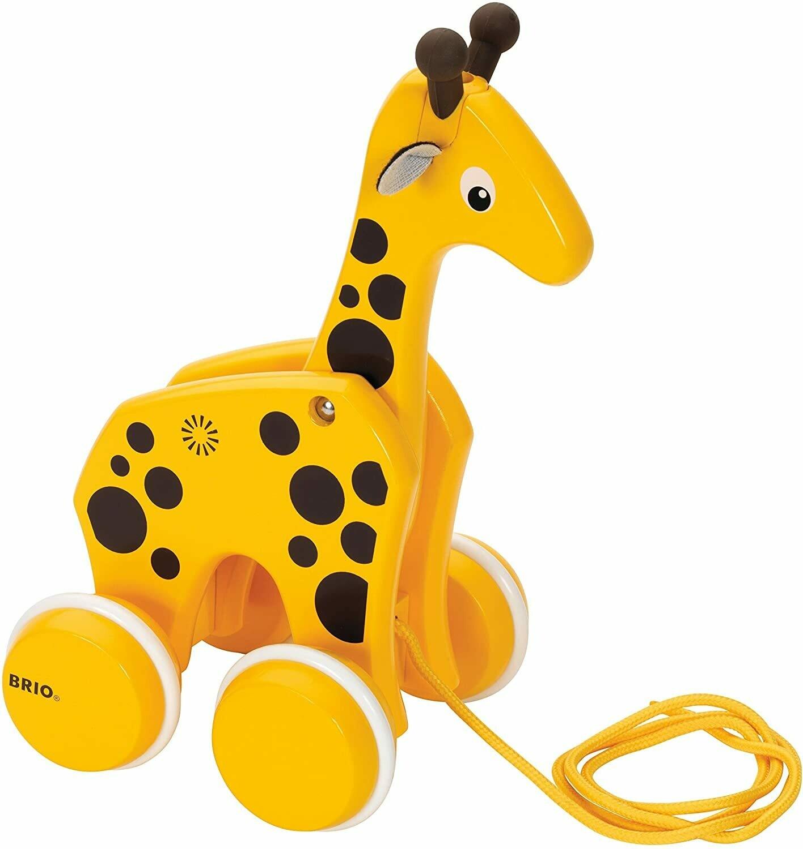 Pull Along Giraffe