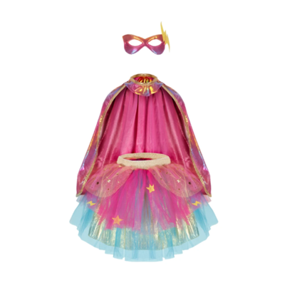 Super Duper Tutu, Cape and Mask Set (size 4-6)