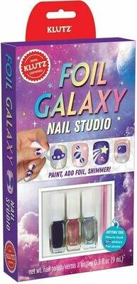 Foil Galaxy Nail Studio
