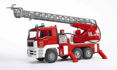 Bruder Fire Engine with water pump, lights and sound