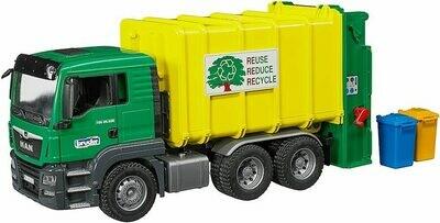 Bruder MAN TGS Rear Loading Garbage Truck