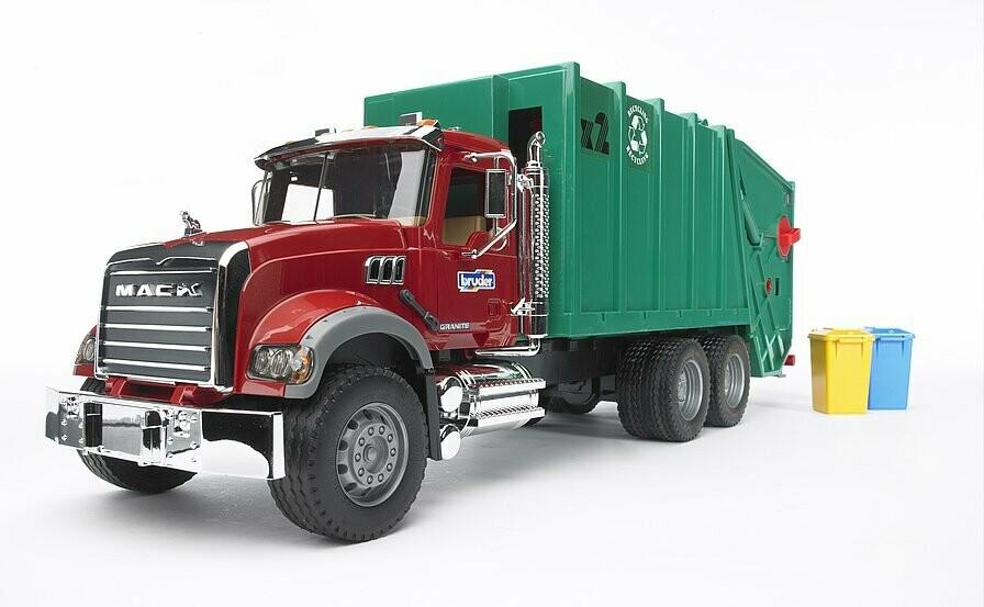 Bruder Mack Granite Recycling Truck