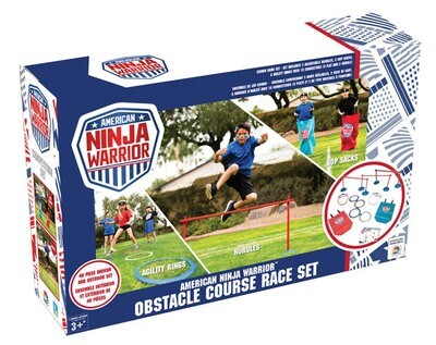 American Ninja Warrior Obstacle Course Race Set
