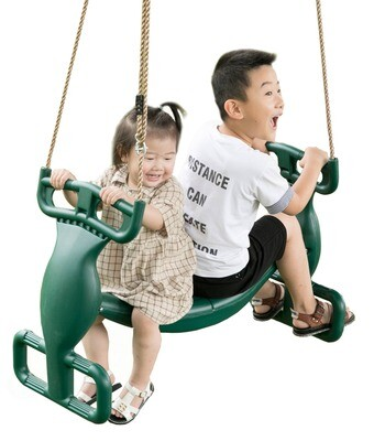 Double Glider Swing Green