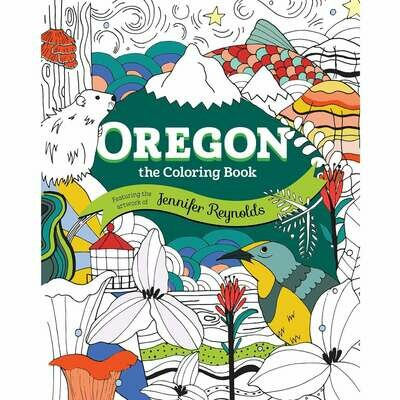 Oregon, The Coloring Book