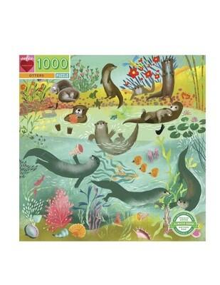 Otters 1000 Piece Puzzle