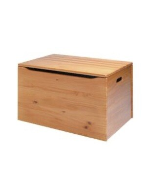 Fundraising item! Wooden storage trunk, assembled