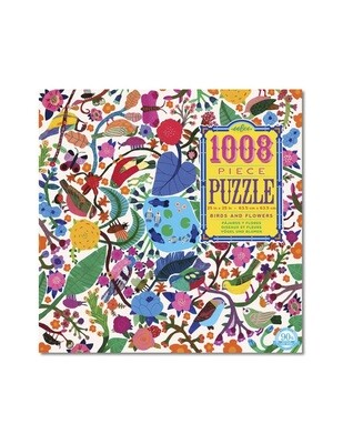 Birds & Flowers 1008 Piece Puzzle