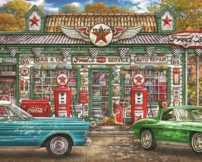 Fred's Service Station
