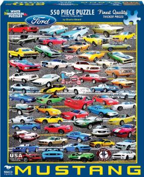 50 Years of Mustangs