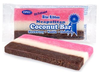 Neopolitan Coconut bar