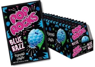 Pop Rocks, Blue Razz