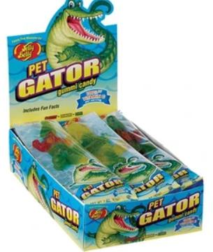 Gummi pet gator