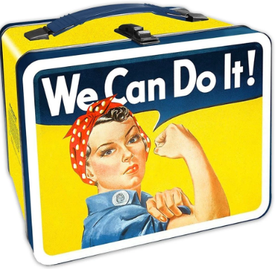 Rosie the Riveter Lunchbox