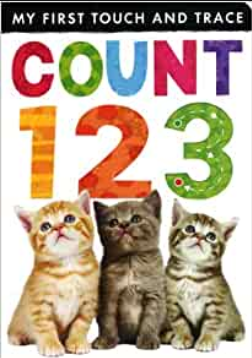 My First Touch & Trace: Count 1 2 3