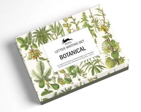 Botanical Paper, Stickers & Envelopes
