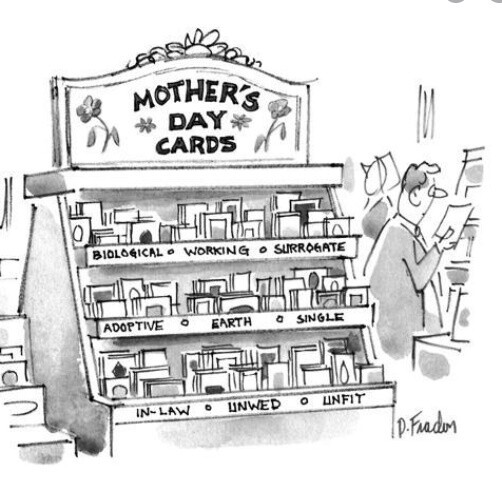New Yorker Mother's Day Card
