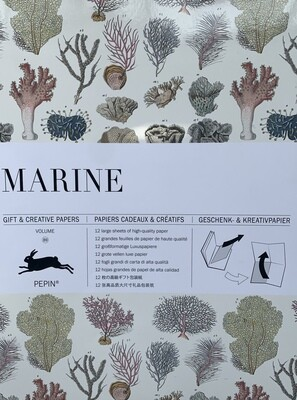 Marine Printed Craft Paper