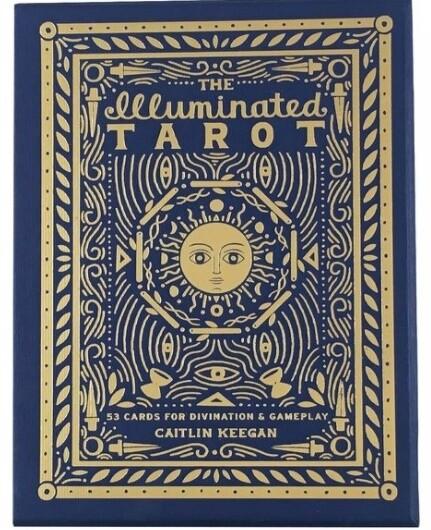 Illuminated Tarot Cards by Caitlin Keegan
